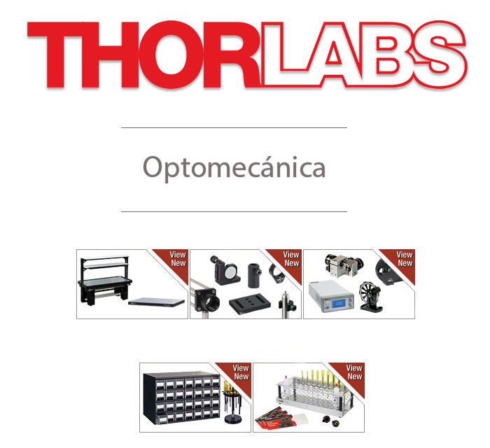 optomecanica thorlabs